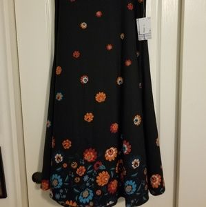 """Floral """"dipped"""" Maxi"""